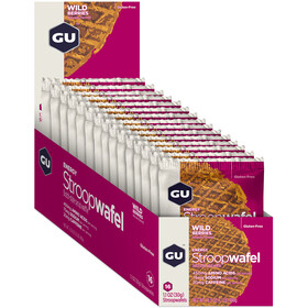 GU Energy StroopWafel Box 16x30/32g, Wild Berries
